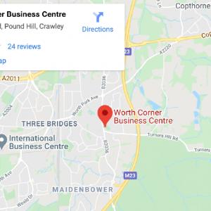 Worth Corner Business Centre - Superb Location